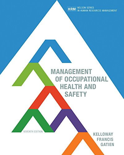 9780176657178: MANAGEMENT OF OCCUPATIONAL HEALTH AND SAFETY