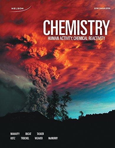 9780176660888: Chemistry: Human Activity, Chemical Reactivity