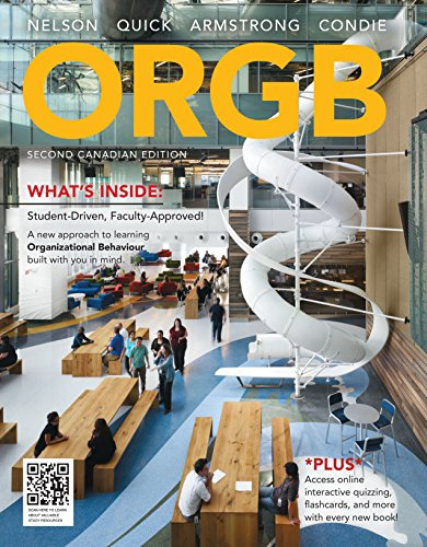 9780176662226: Package: ORGB, Second Canadian Edition + CourseMate Printed Access Card (12 Months), 2nd Edition