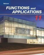 9780176678234: Functions & Applications 11 Student Text + Online PDF Files