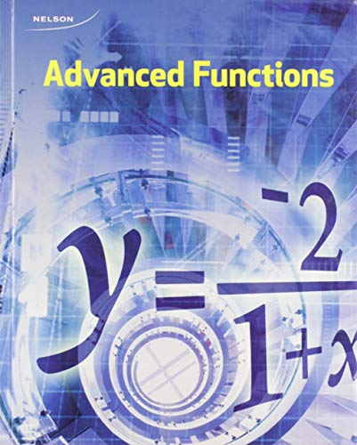 9780176678326: Advanced Functions 12 Student Text + Online PDF Files