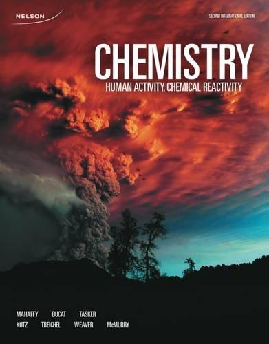 9780176684082: Chemistry: Human Activity, Chemical Reactivity