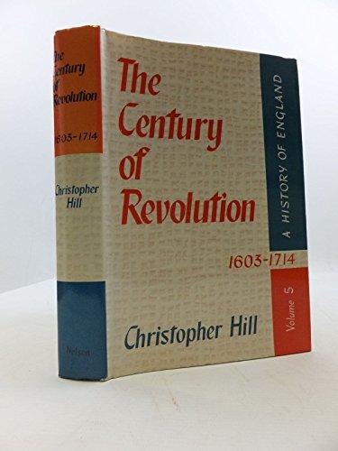 9780177110467: The Century of Revolution 1603-1714