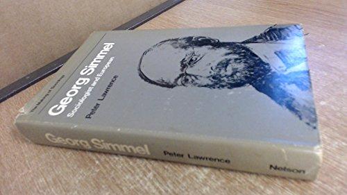9780177110818: Georg Simmel (Making of Sociology)