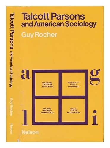 9780177111198: Talcott Parsons and American Sociology