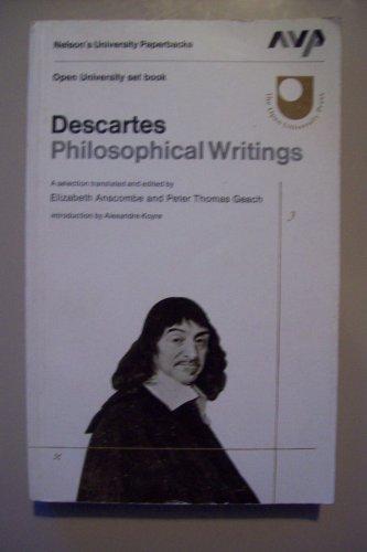 9780177120374: Descartes Philosophical Writings