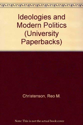 9780177120718: Ideologies and modern politics