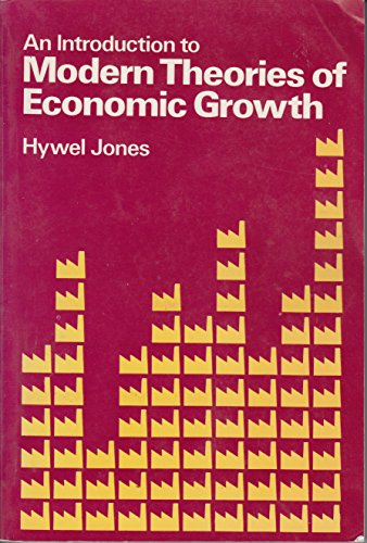9780177122057: Introduction to Modern Theories of Economic Growth