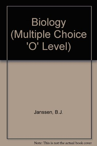 9780177511837: Biology (Multiple Choice 'O' Level)