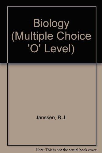 9780177511837: Biology (Multiple Choice 'O' Level)