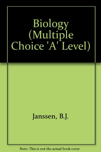 9780177512056: Biology (Multiple Choice 'A' Level)