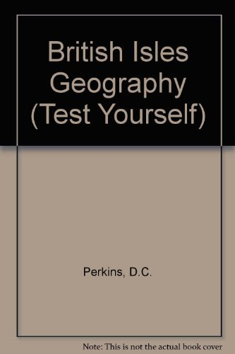 9780177512438: British Isles Geography (Test Yourself S)
