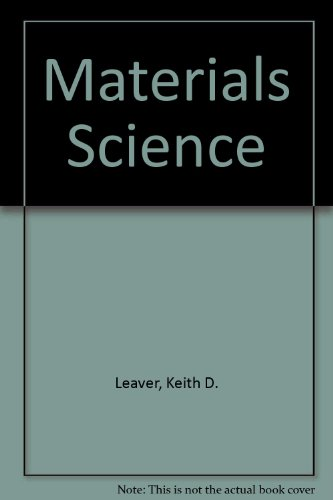 Materials Science: Keith D. Leaver