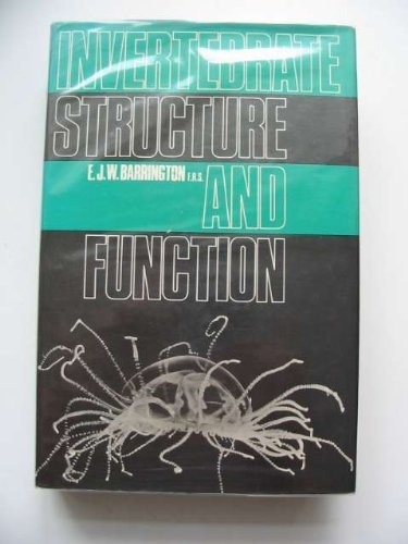 9780177610622: INVERTEBRATE STRUCTURE AND FUNCTION