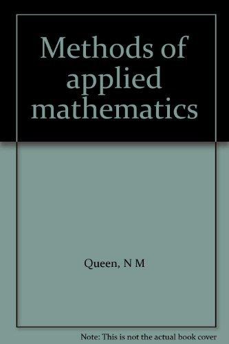 9780177610998: Methods of applied mathematics