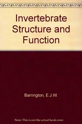 9780177710087: Invertebrate Structure and Function