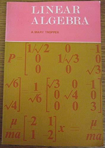 9780177710100: Linear Algebra