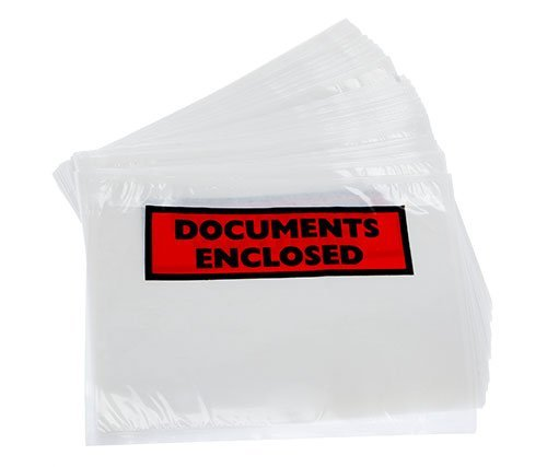 9780179876743: 500 x A6 Printed Document Enclosed Wallets Slips - HIGH QUALITY UK MANUFACTURED
