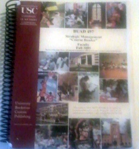 9780182148325: Strategic Management BUAD 497 USC