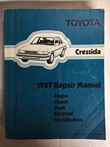9780186081208: Toyota Cressida 1987 Repair Manual