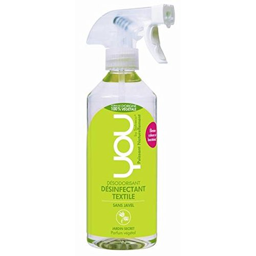 9780187796217: You - Desodorisant you desinfectant textile jardin secret - 500ml