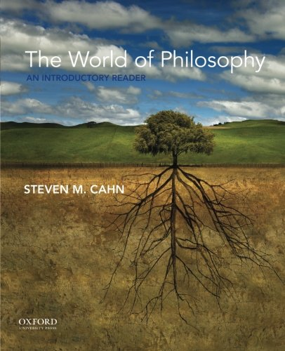 9780190233396: The World of Philosophy: An Introductory Reader