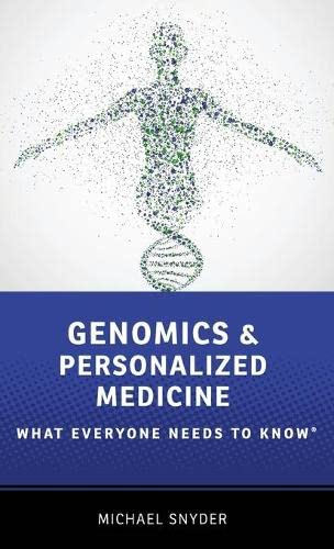 9780190234775: Genomics and Personalized Medicine: What Everyone Needs to Know®