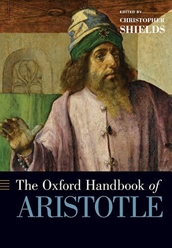 9780190244842: The Oxford Handbook of Aristotle
