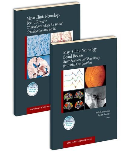 9780190244897: Mayo Clinic Neurology Board Review (SET) (Mayo Clinic Scientific Press)