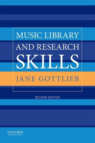 9780190267940: Music Library and Research Skills