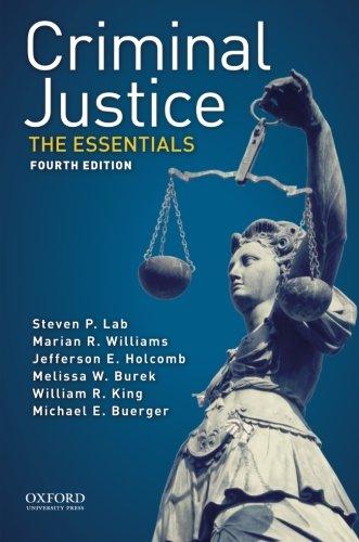 9780190272524: Criminal Justice: The Essentials