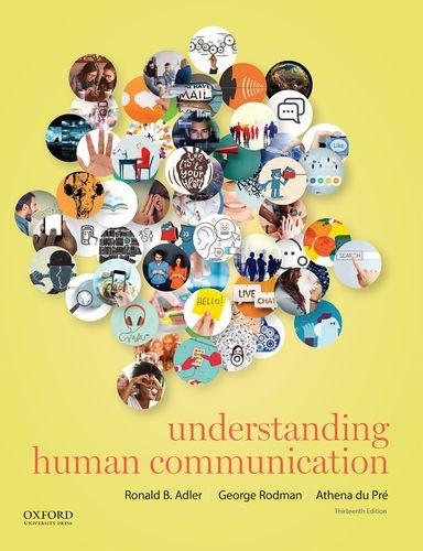 9780190297084: Understanding Human Communication
