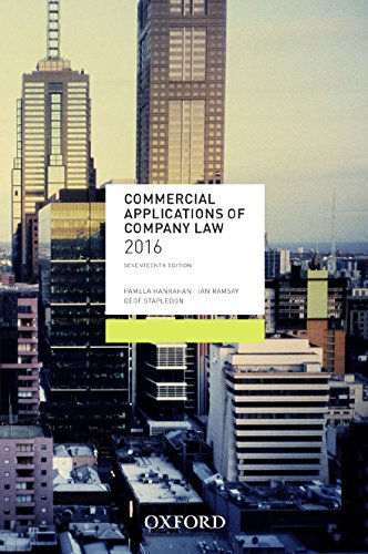 9780190304362: Commercial Applications of Company Law 2016