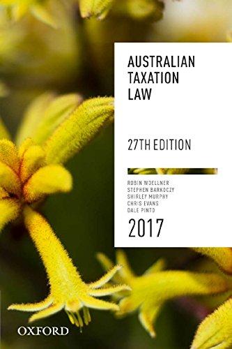 australian taxation law 27th edition pdf
