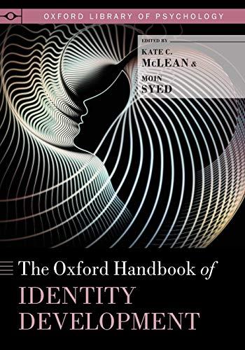 9780190469238: The Oxford Handbook of Identity Development
