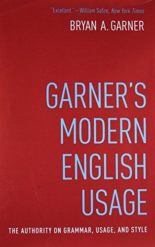 9780190491482: Garner's Modern English Usage