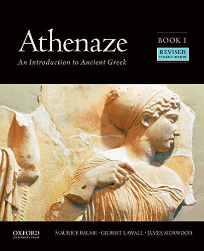 9780190607661: Athenaze, Book I: An Introduction to Ancient Greek
