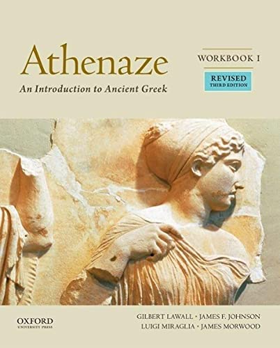 9780190607685: Athenaze, Book I: An Introduction to Ancient Greek
