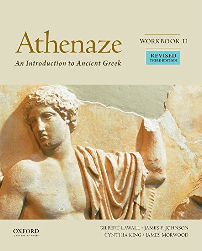 9780190607692: Athenaze: An Introduction to Ancient Greek, Workbook II