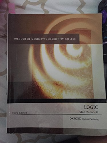 9780190618872: borough of manhattan community college logic stan baronett 3rd edition