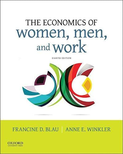 9780190620851: The Economics of Women, Men, and Work