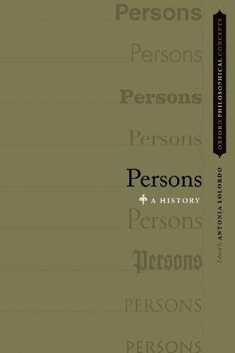 9780190634391: Persons: A History
