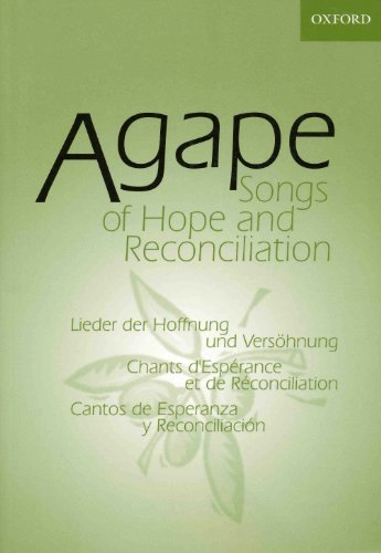 9780191000133: Agape: Songs of Hope and Reconciliation