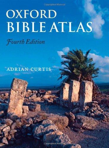 9780191001581: Oxford Bible Atlas