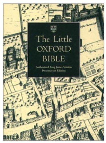 9780191101472: The Little Oxford Bible, KJV: King James Version
