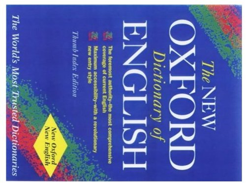 9780191958045: The New Shorter Oxford English Dictionary