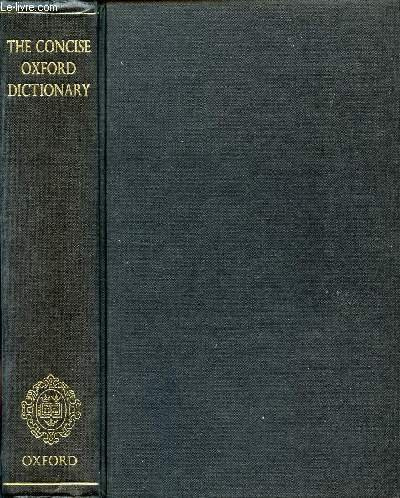 9780191958625: The Concise Oxford Dictionary of Current English
