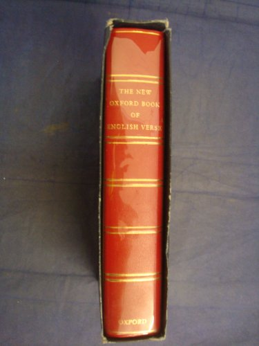 9780191969522: The New Oxford Book of English Verse, 1250-1950,