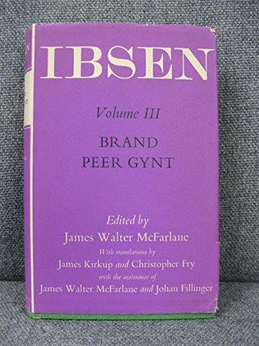 9780192113603: Oxford Ibsen: Brand, Peer Gynt (v. 3)