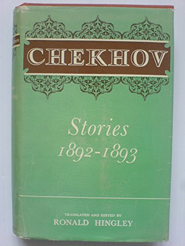 Oxford Chekhov: Stories, 1892-1893: Chekhov, Anton